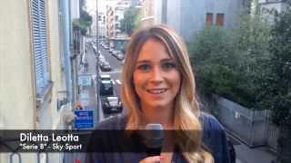 """Diletta Leotta: """"La serie cadetta è entusiasmante come la Serie A"""". TVZoom.it"""