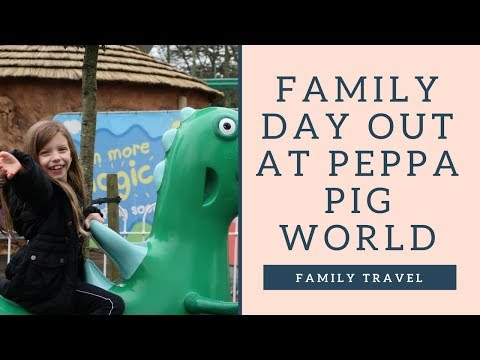 PEPPA PIG WORLD THEME PARK & NEW LITTLE AFRICA | FAMILY TRAVEL