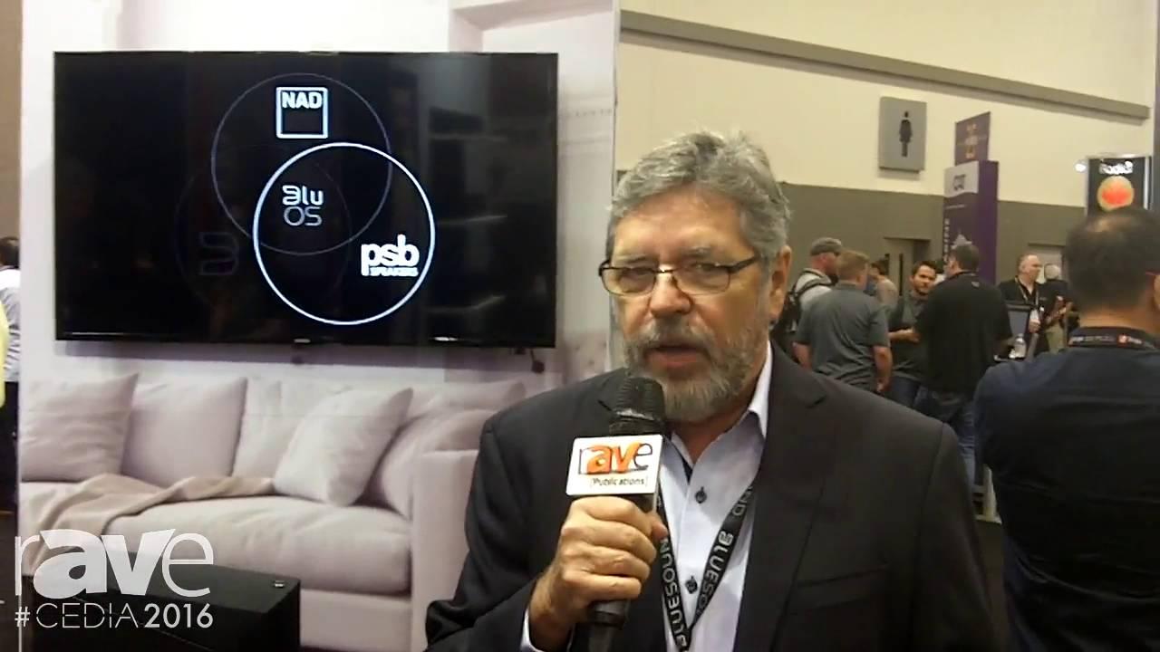 CEDIA 2016: NAD Electronics Launches C 368 Hybrid Digital DAC Amplifier