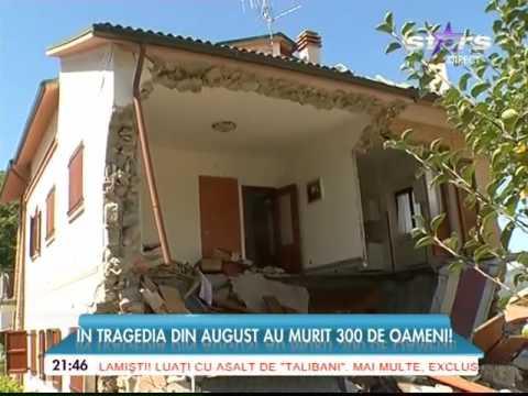 Cutremur puternic în Italia! Este al doilea seism major în doar două luni