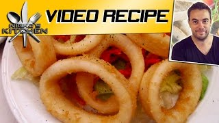'salt N Pepper' Squid Rings - Video Recipe