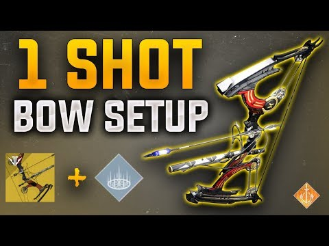 Destiny 2: The 1 Shot Bow Setup | Le Monarque + Empowering Rift | thumbnail