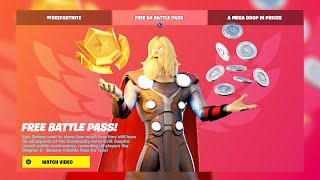 FREE BATTLE PASS for EVERYONE! (SEASON 4)