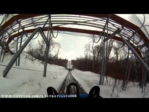 Alpine Coaster Winter On-ride (Complete HD Experience) Park City Mountain Resort
