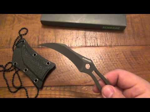Knife Review : SCH111 ($20 Karambit Neck Knife)