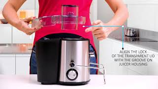 Prestige Centrifugal Juicer | How To Use Prestige Centrifugal Juicer | Prestige