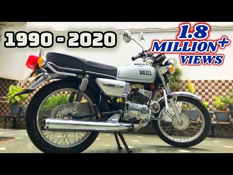 Yamaha rx 100 (restored)