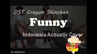 Gambar cover OST Crayon Shinchan Funny Indonesia Acoustic Cover