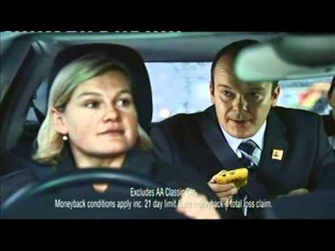 AA Car Insurance advert- Mum and Son