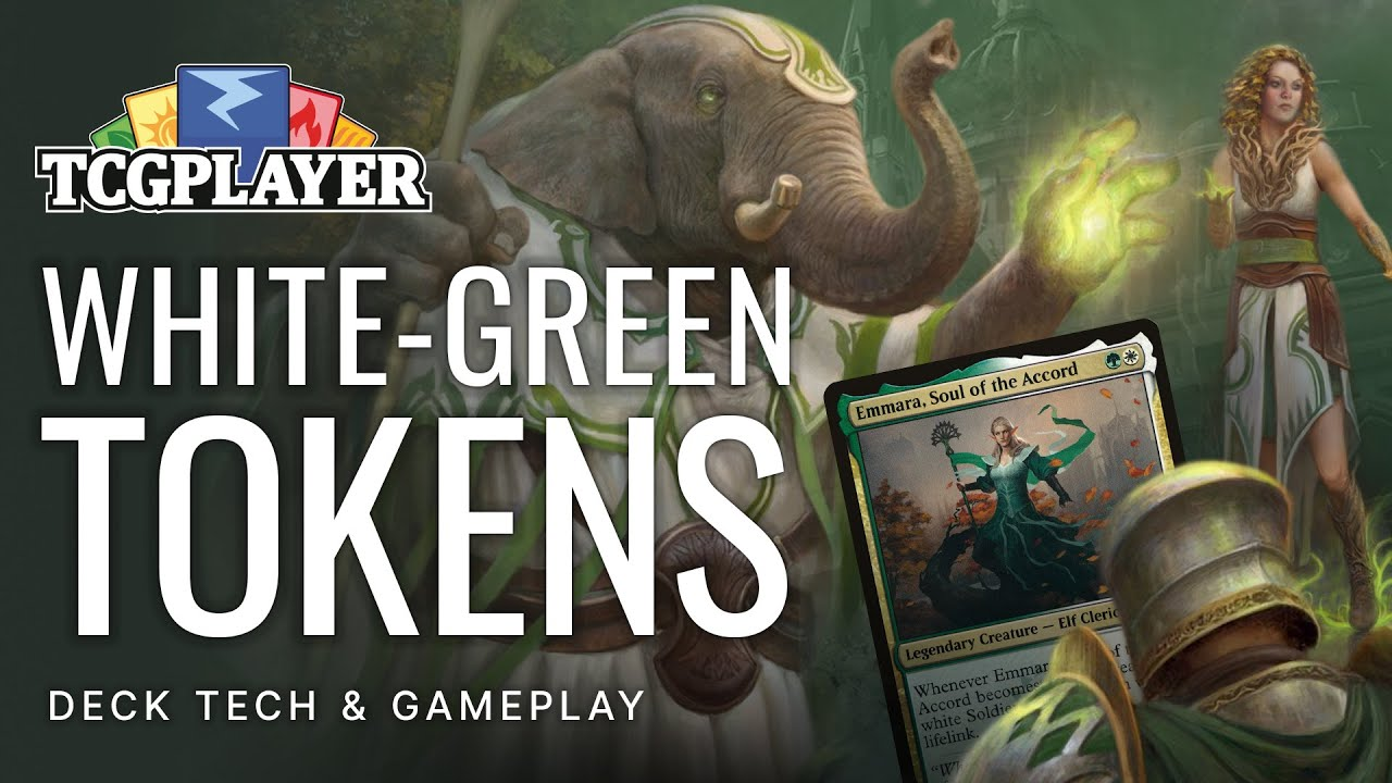 White-Green Tokens (Videos) by Seth Manfield - Magic the Gathering (MTG)