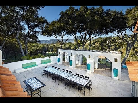 Modern Tuscan Residence in Santa Barbara, California  | Sotheby's International Realty