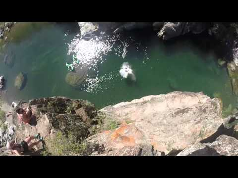 Paradise Flumes Cliff Jumping (Cable Pools)