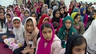 Bustan-e-waqf-e-naw  : Classe avec les enfants  - 10 Dec 2017
