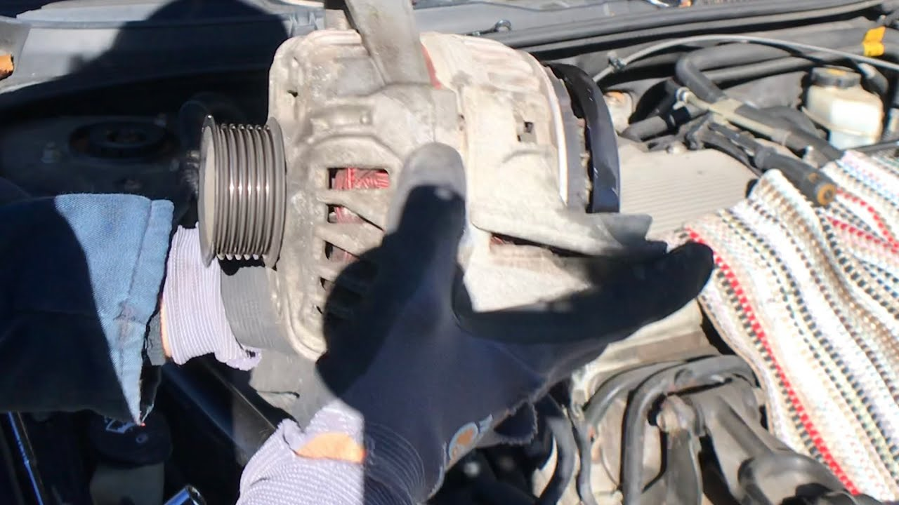 2007 Chevy Impala Alternator Replacement