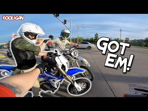 Dirt Bikes in the City | Everyone Wants a Wheelie!