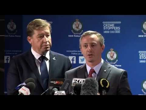 NSW Police Press Conference - Ice reporting campaign