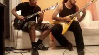 Hellbreath - 'Demomatch' Riff/solo - Deathmatch, Destroyed Mind and Behind The Scenes