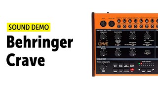 Behringer Crave Sound Demo (no talking)