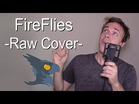 FireFlies (NO AUTOTUNE) - Black Gryph0n Cover