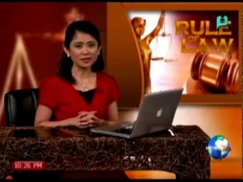 Rule of Law: Tackles the issue of debt on lending company -- Feb. 11, 2015