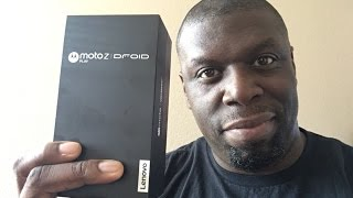 Moto Z Play [DROID EDITION] Unboxing
