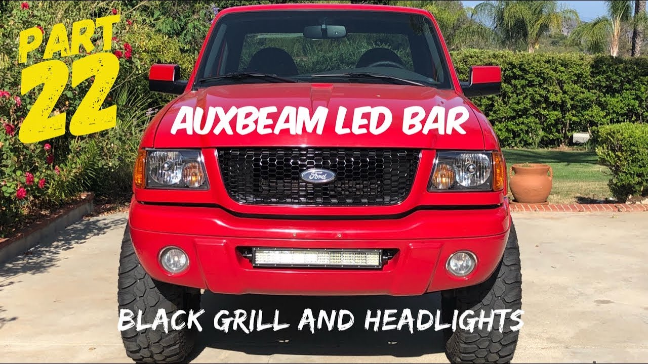 Project 2002 Ford Ranger Edge Part 22 Auxbeam Led And Dark Features