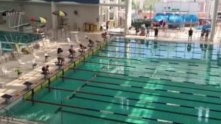 16--17年度學界九龍D3(K2)50米蝶式男子A組決賽,