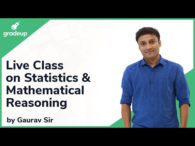 Live Class on Statistics & Mathematical Reasoning | JEE Main 2019 | Mathematics