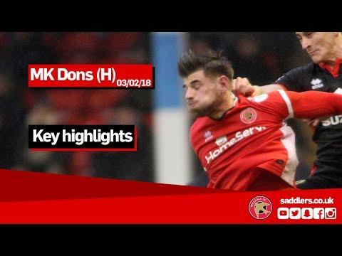 MATCH HIGHLIGHTS | Walsall 1-0 MK Dons