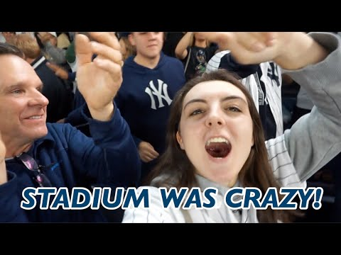 Yankees Wild Card Game Vlog! (A MUST WATCH!)