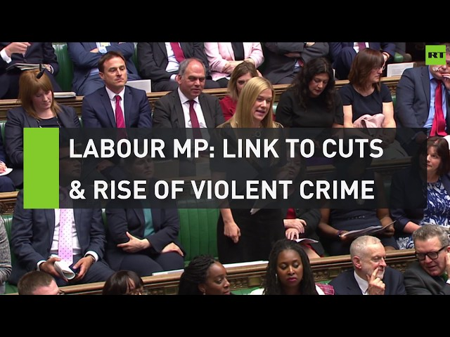 Labour MP: Link to police cuts and rise of violent crime in London