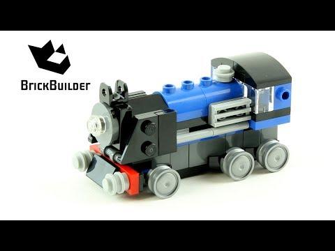 Lego Creator 31054 Blue Express - Lego Speed Build