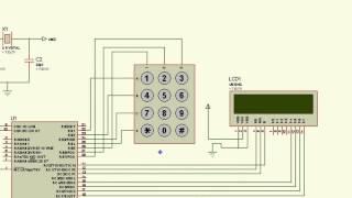 PIC 16F876A CCS PROTEUS EJEMPLO 5 (TECLADO Y DISPLAY LCD 16x2)