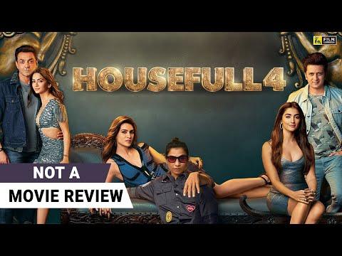 Housefull 4   Not A Movie Review by Sucharita Tyagi   Akshay Kumar   Kriti Sanon   Riteish Deshmukh