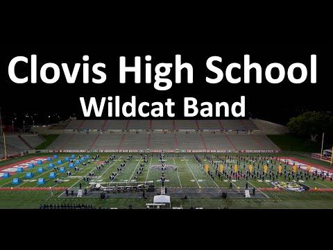 Clovis High School Wildcat Band 2018 - 4K