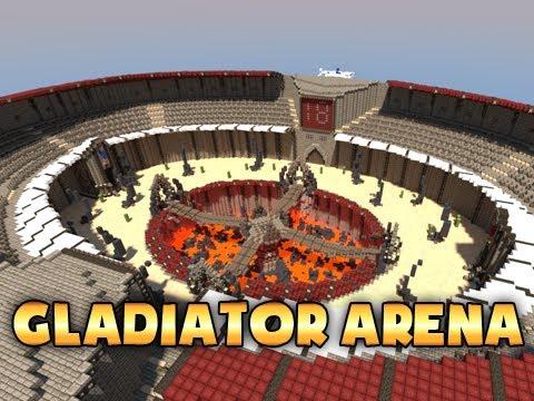 скачать карту для мини-игр майнкрафт арены #4