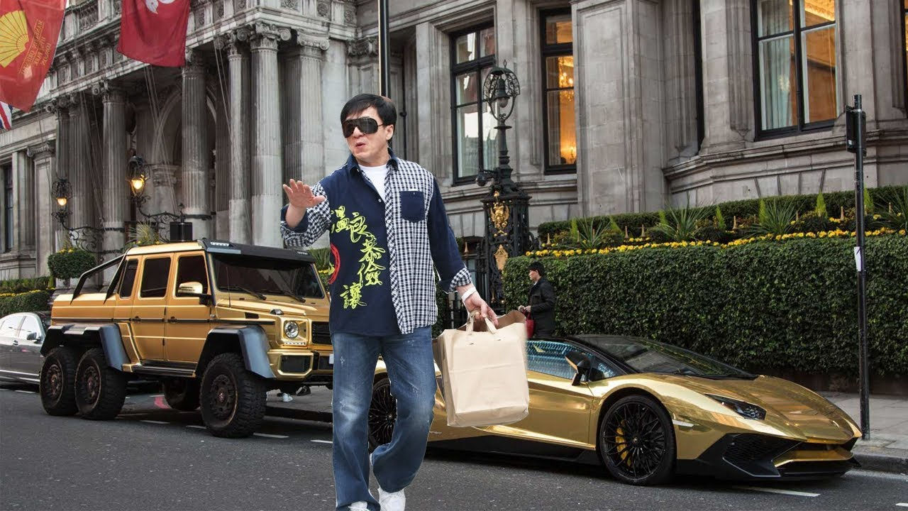 Rich life of Jackie Chan - Net Worth, LifeStyle, Cars ...