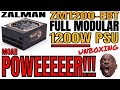 ZALMAN ZM1200-EBT PSU Unboxing - A 1200W Modular cable management Power supply of POWEEEEEER!!!