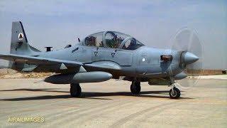 Afghanistan Air Force  B-Roll Jan 2018