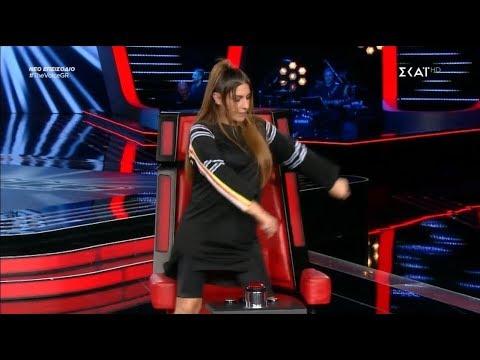 Το floss dance των coaches (The Voice of Greece 3)