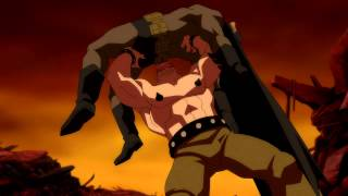 Batman: The Dark Knight Returns Part I- Batman Vs. Mutant Leader 1