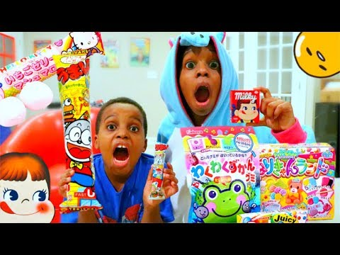 Thumbnail: DARE OR EAT JAPANESE CANDY! - Onyx Adventures