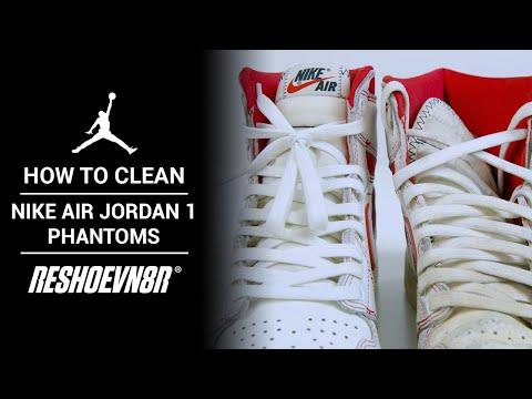 How to Clean this DIRTY Air Jordan 1 Phantom with RESHOEVN8R
