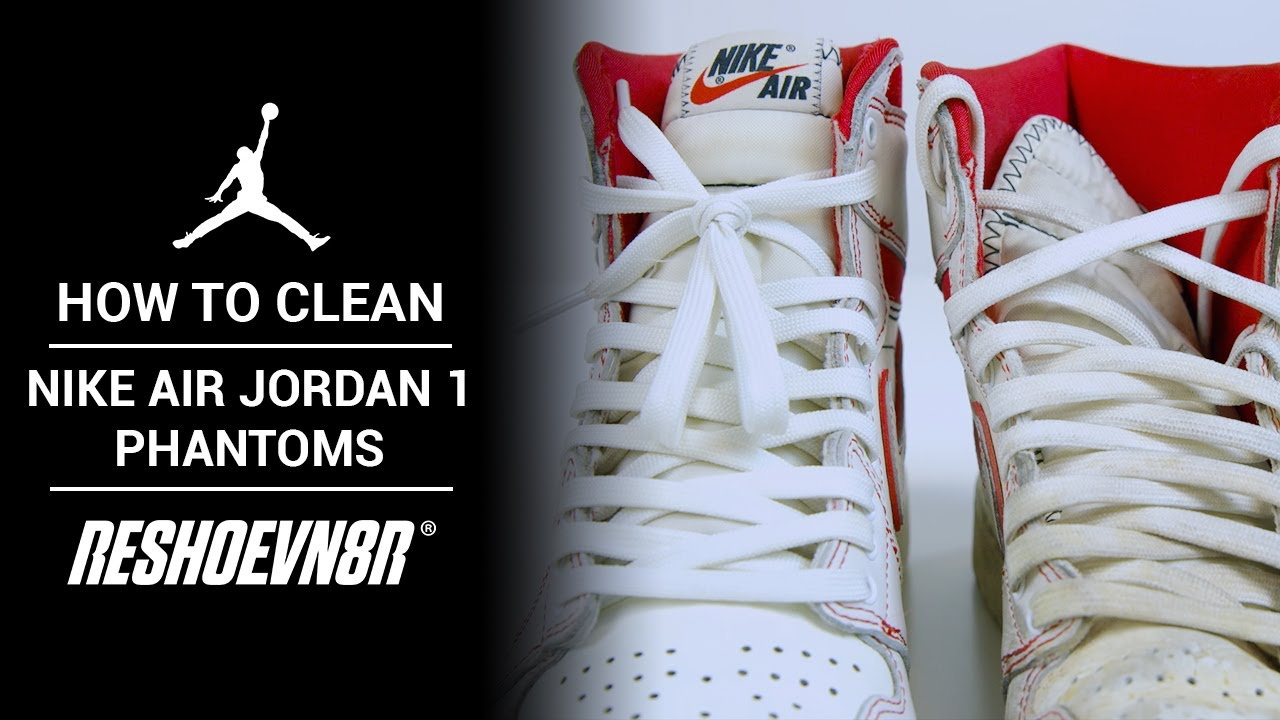 How to Clean this DIRTY Air Jordan 1