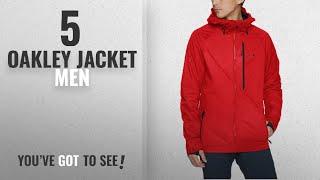 Top 10 Oakley Jacket Men [ Winter 2018 ]: Oakley Jackpot 10K Bzs Jacket, Red Line, Medium