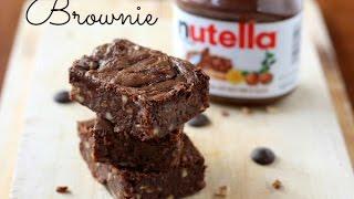 BROWNIE DE NUTELLA ♥ 3 INGREDIENTES