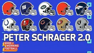2018 NFL Mock Draft 1st Round Picks 1-10 with Analysis | Peter Schrager 2.0 | GMFB | NFL Network