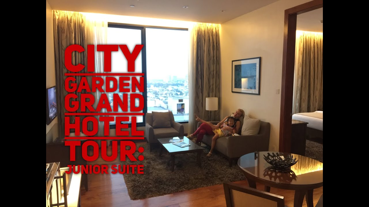 City Garden Grand Hotel Makati Tour Episode 1: Junior Suite Gym Formosa Spa  By HourPhilippines.com   YouTube