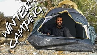WINTER Camping in CRETE