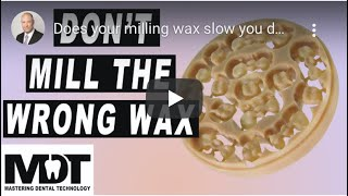 Does your milling wax slow you down? Interview with MDT